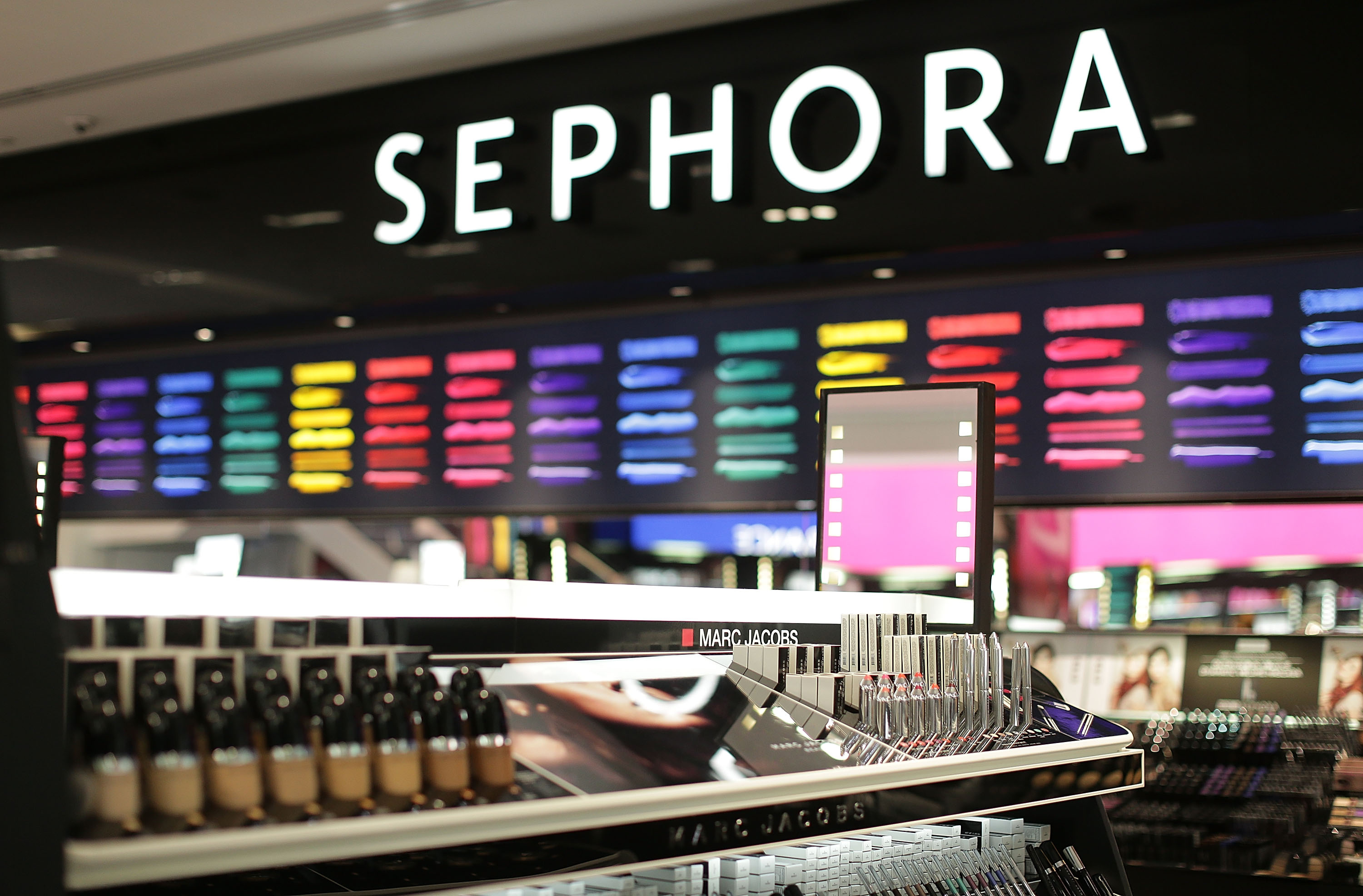 SYDNEY, AUSTRALIA - DECEMBER 05:  A general view inside the Sephora store before it opens the doors to its Westfield Pitt Street Mall store on December 5, 2014 in Sydney, Australia. This is the first Sephora store to open in Australia.  (Photo by Mark Metcalfe/Getty Images)