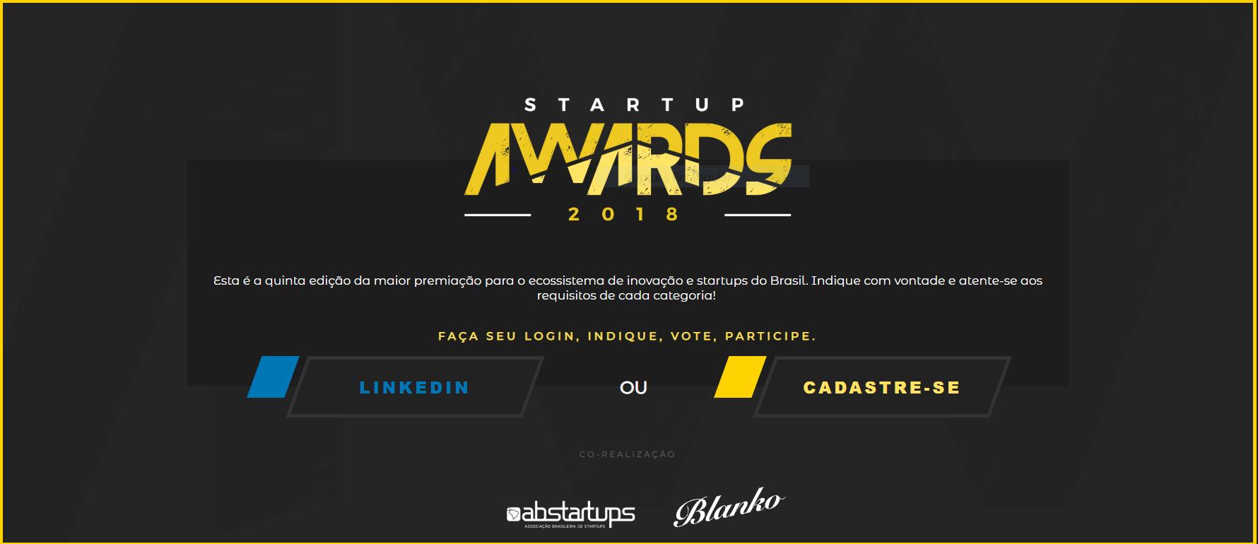 satrtup awards
