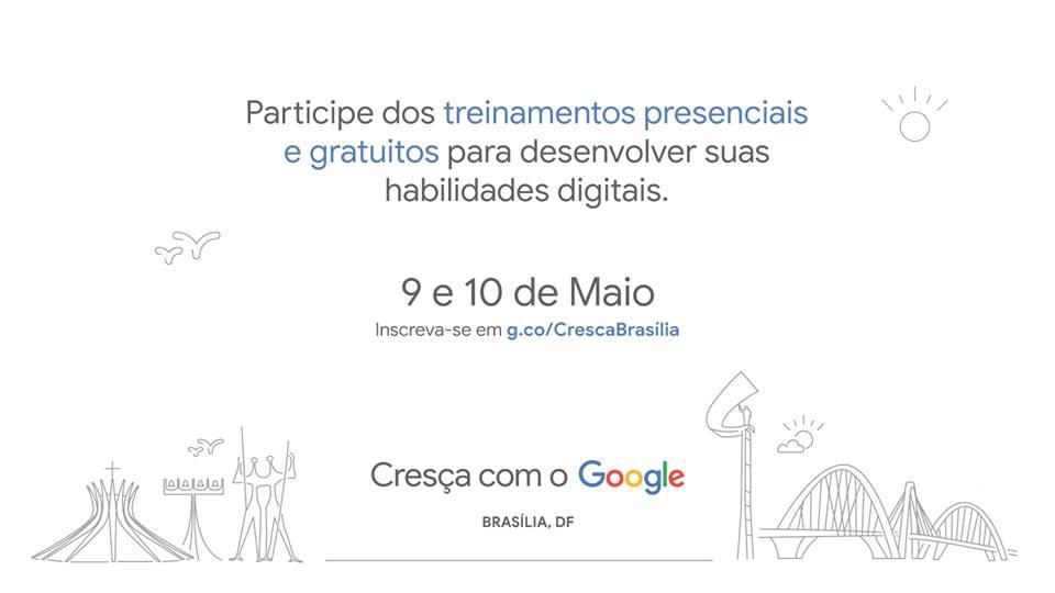 0c2f22f31 Cresça com o Google - Brasília - Rede Mulher Empreendedora
